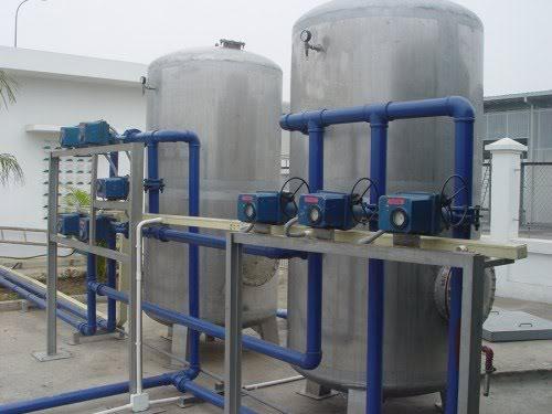 Trạm xử lý nước sông suối, ao hồ công suất 20.000 lít/giờ đến 200.000 lít/giờ