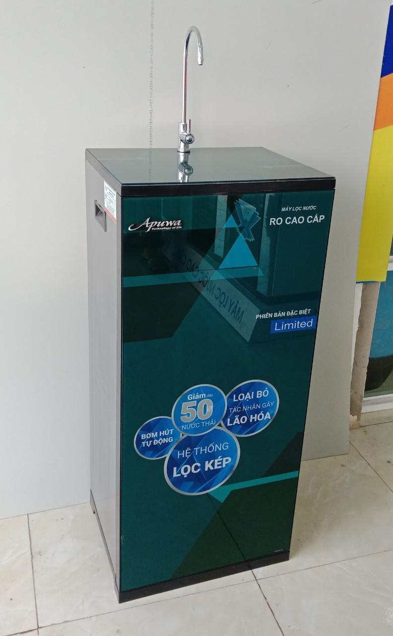 Máy lọc nước tinh khiết R.O Apuwa 9 cấp lọc