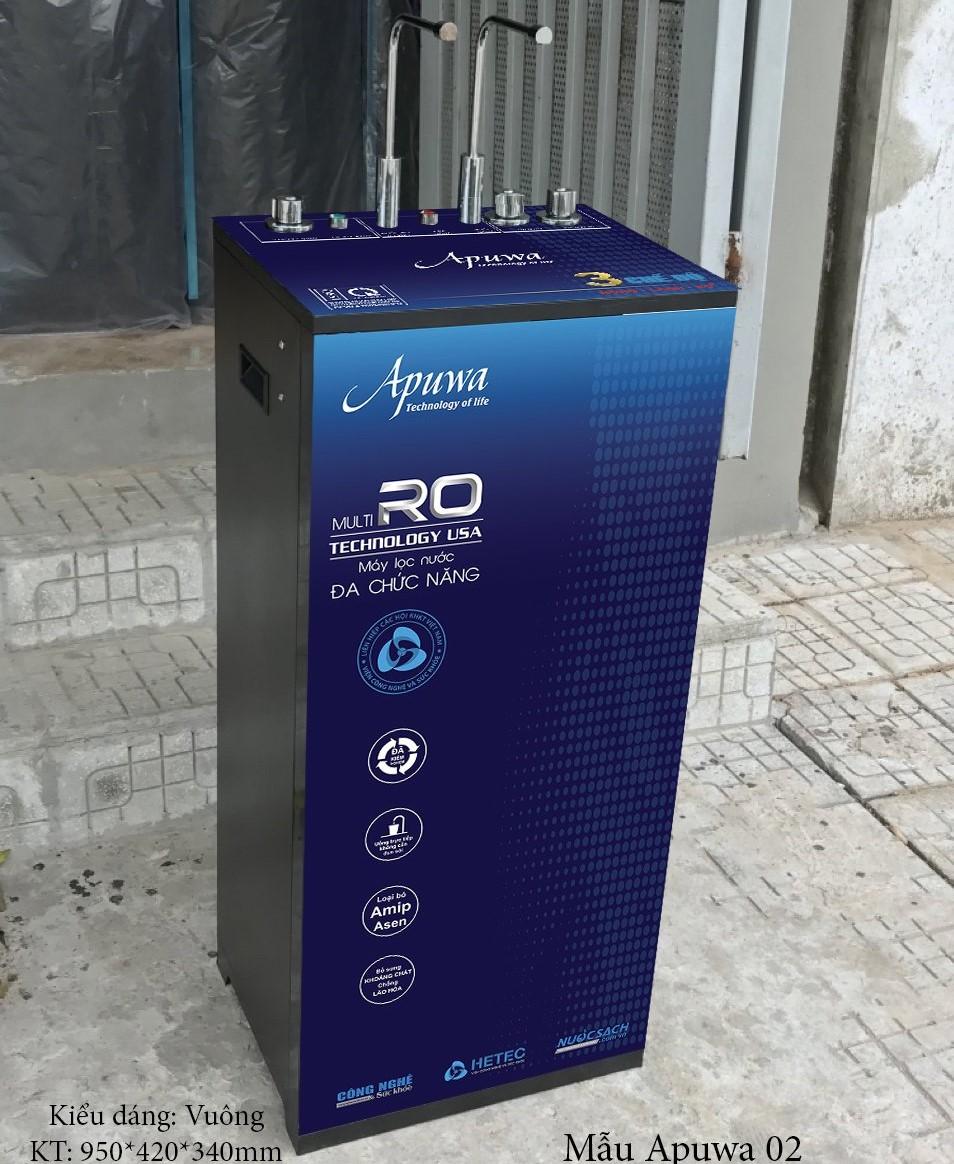 Máy lọc nước RO 9 cấp lọc Apuwa tích hợp 3 chức năng nóng - lạnh - nguội AP109-3CN