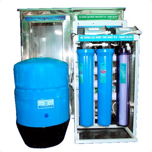 Máy lọc nước tinh khiết R.O công suất  50 L/H