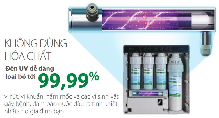 Khử trùng nước hiệu quả bằng máy lọc nước công nghiệp tia UV