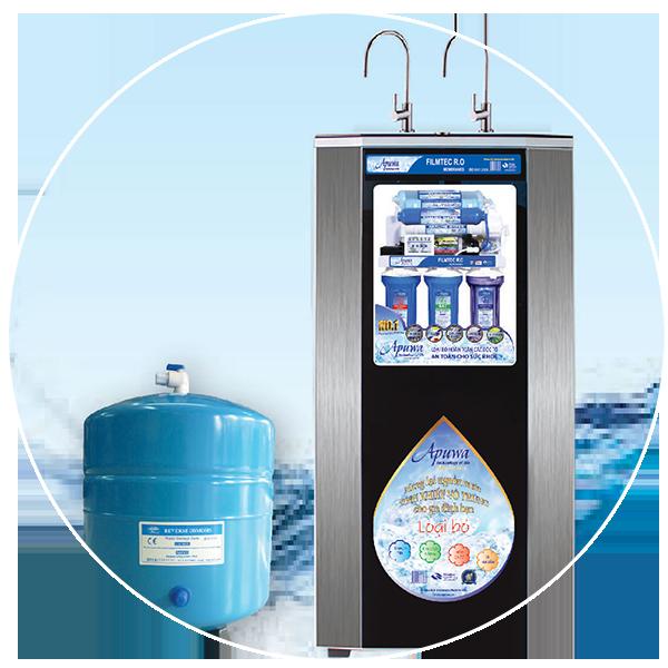 Máy lọc nước Apuwa - Thương hiệu việt cho người việt