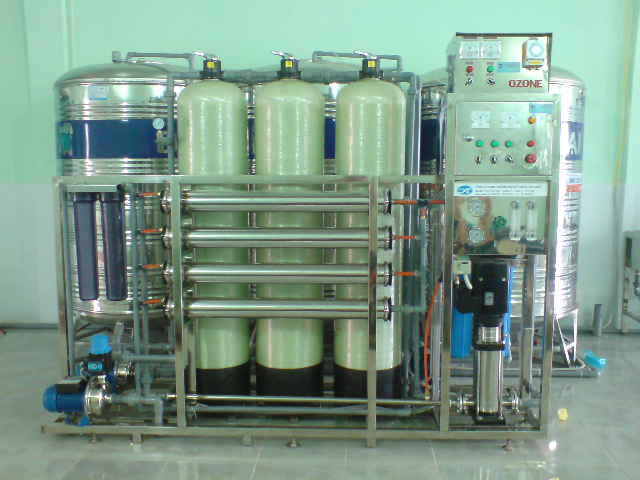 Tư vấn chọn mua máy lọc nước công nghiệp tốt nhất cho ngành chế biến thực phẩm
