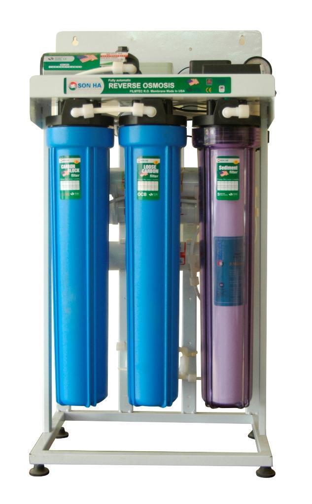 Công suất phổ biến của máy lọc nước công nghiệp