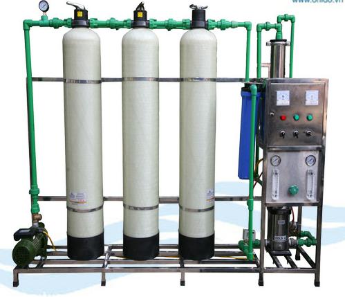 Máy lọc nước RO công nghiệp công suất 300 Lít / giờ