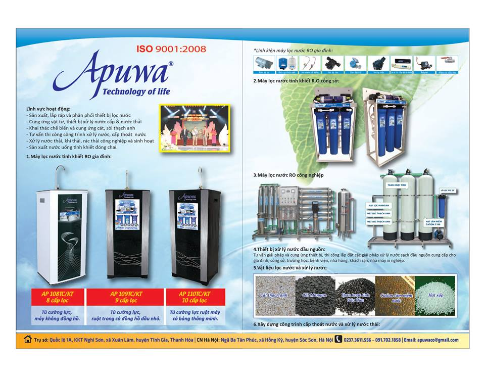 Máy lọc nước tinh khiết tại Bắc Ninh
