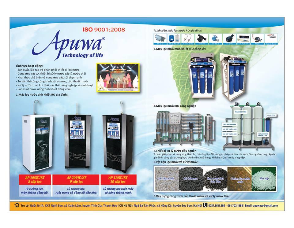 Máy lọc nước gia đình tại Thái Bình